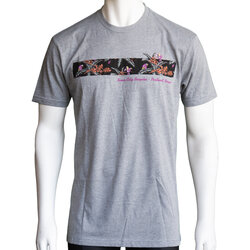River City Bicycles Giro Tech Tee - Grey / Purple