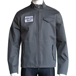 River City Bicycles Giro Patch Mechanic's Jacket - Grey