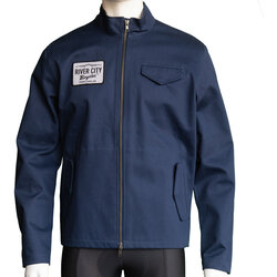 River City Bicycles Giro Patch Mechanic's Jacket - Navy