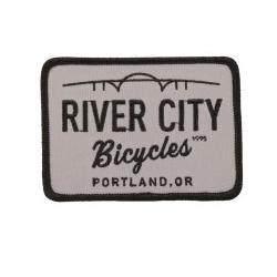 River City Bicycles RCB Bridge Logo Patch