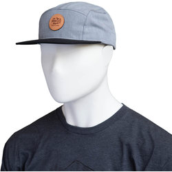 River City Bicycles Round Mountain Logo Leather Patch Hat