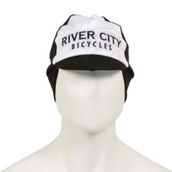 River City Bicycles Black/White Winter Cycling Cap