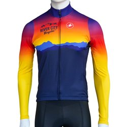 River City Bicycles Castelli Sunrise LS Jersey - Men's