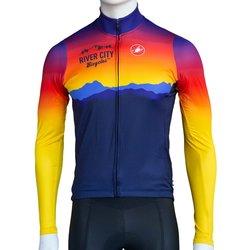 River City Bicycles Castelli Sunrise LS Jersey - Men's