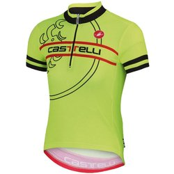 Castelli Segno Kids Jersey - Yellow