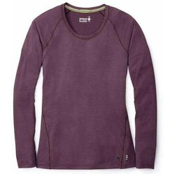 Smartwool Women's Merino 150 Long Sleeve Base Layer Top - Bordeaux