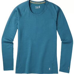 Smartwool Women's Merino 150 Long Sleeve Base Layer Top - Marlin Blue