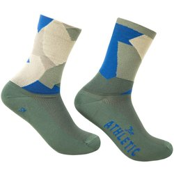 The Athletic Community Camo Socks - Cilantro