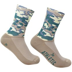 The Athletic Community Camo Socks - Greige