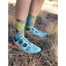 The Athletic Community Camo Socks - Danube Blue