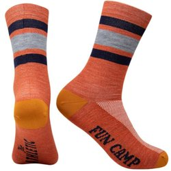 The Athletic Community Fun Camp Terracotta Fine Wool Socks