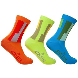 The Athletic Community LAX Airport Mismatched Socks (Set of Three)