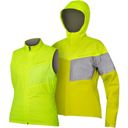 Endura Women's Urban Luminite 3 in 1 Jacket II