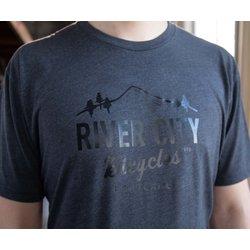 River City Bicycles Bridge Logo Men's Tee