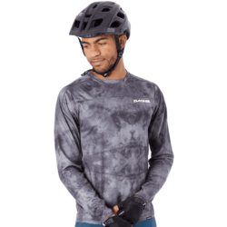 Dakine Syncline Long Sleeve Jersey - Black Haze