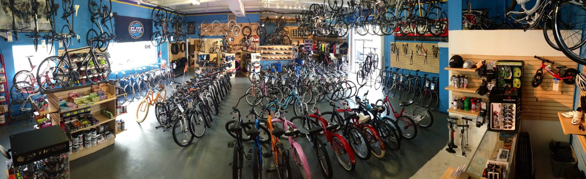 Elite Cycling & Fitness Showroom