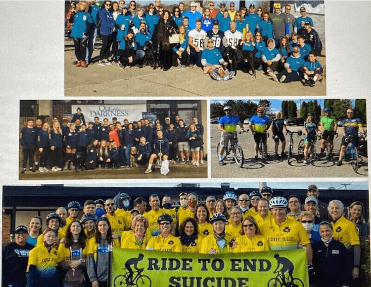 Team Con;nue Foundation Ride