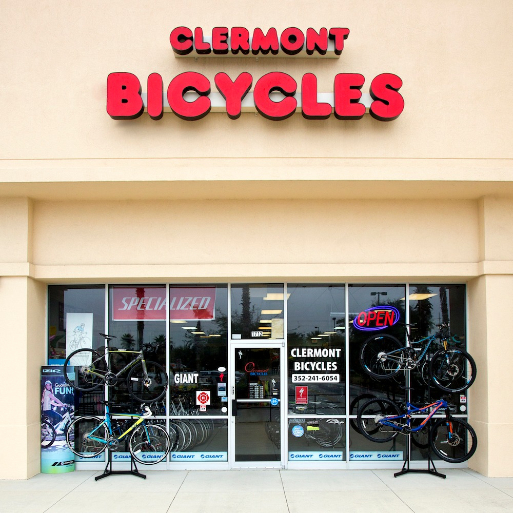 Clermont Bicycles storefront