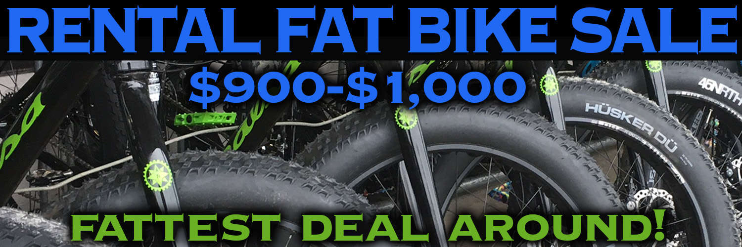 Rental Fat Bike Sale