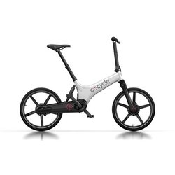 GoCycle GS White/Black (Front Brake Left)