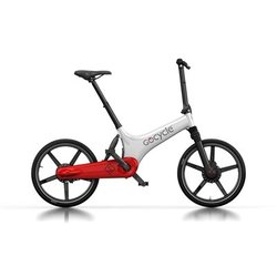 GoCycle GS White/Red (Front Brake Left)
