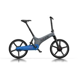 GoCycle GS Grey/Blue (Front Brake Left)
