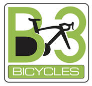 B3 Bicycles (Bike Blade & Ball) Logo
