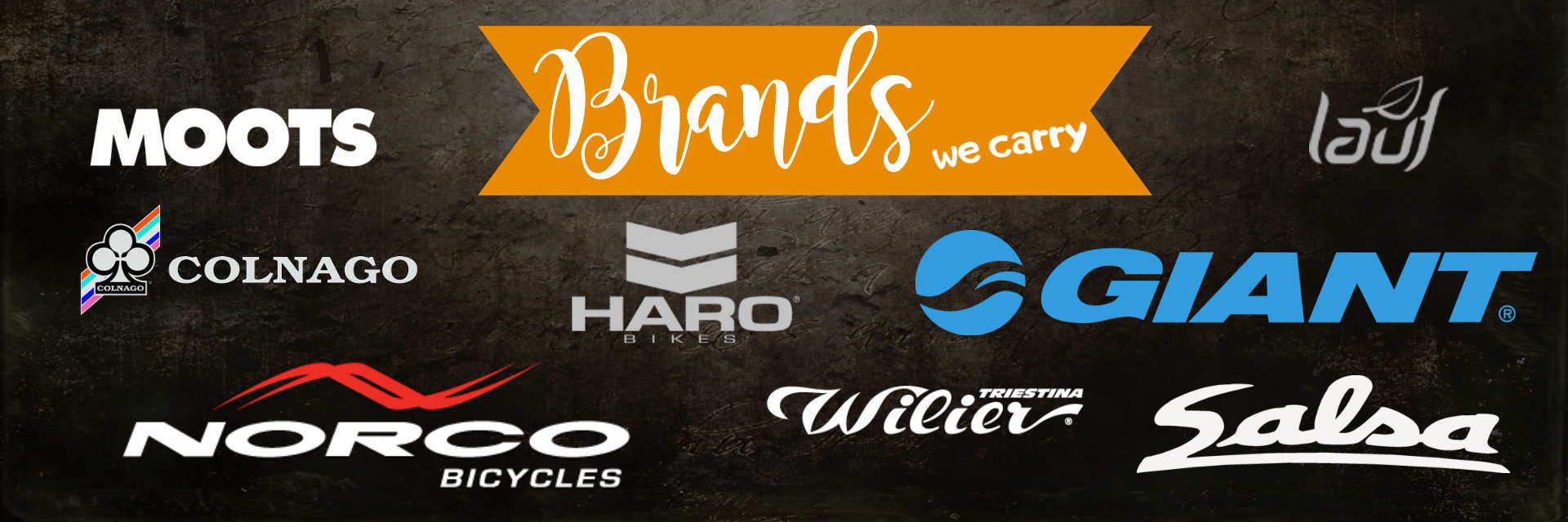 Brands We Carry at Handlebar Cyclery
