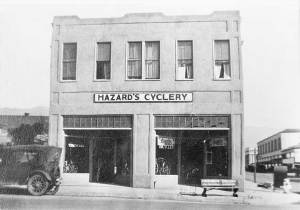 Since 1914 - Hazards Cyclery Store Front