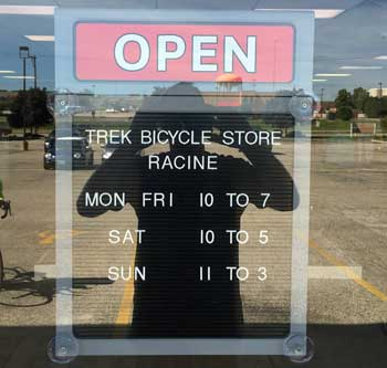 Welcome to the Trek Bicycle Store Racine - We're Open!