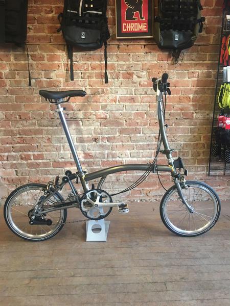Brompton Folding bike | Raw | Extralight