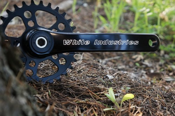 White Industries White Industries Crank Arms | M30 | 175 | Black
