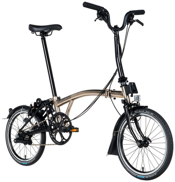 Brompton M-Type Nickel Edition | Nickel Plated | 6-Speed