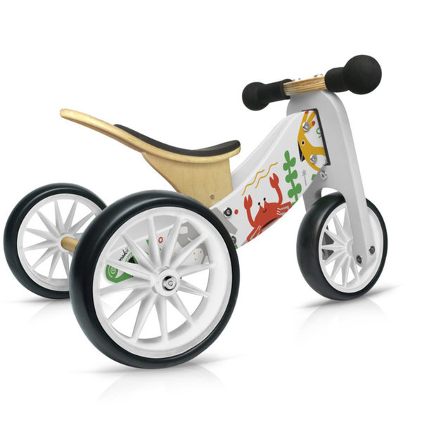 Kinderfeets Tiny Tot 2-1 Trcycle / Run Bike