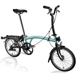 Brompton H-Type Black Edition | Turkish Green | 6 Speed