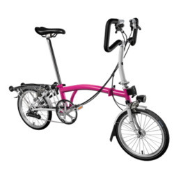 Brompton P-Type | Magenta/Grey | 6 Speed