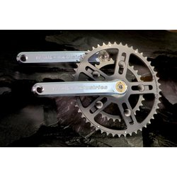 White Industries White Industries Road Crankset | Square Taper Road | Silver 175mm
