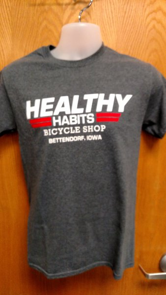 Healthy Habits Custom Men's T-Shirt