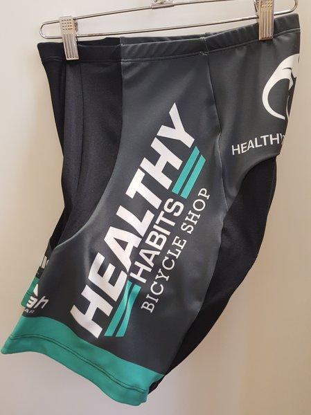 Healthy Habits Custom Healthy Habits Shorts Em Green   Women's