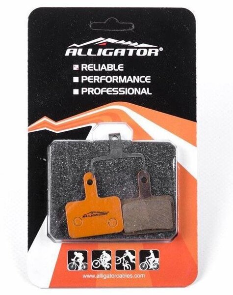 Alligator Alligator Organic Disc Brake Pads - Shimano M575/M495