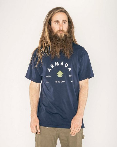 Armada In the Trees Tee - Navy