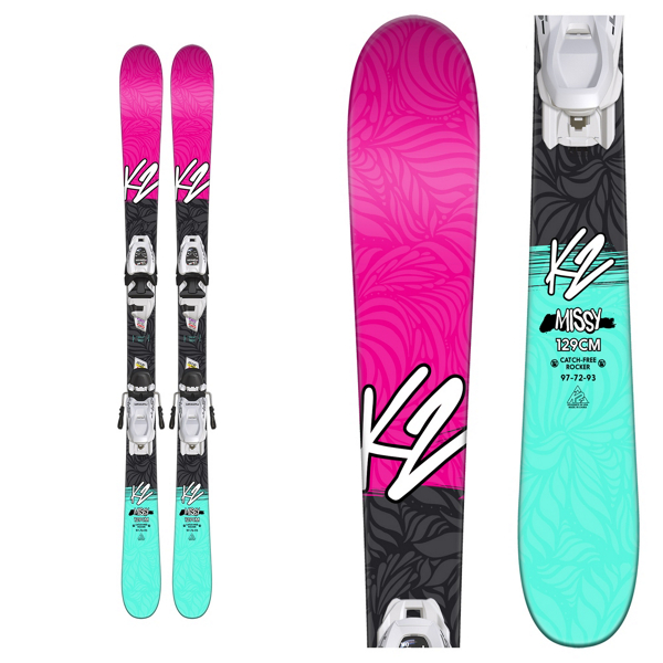 K2 Missy Kids w/ Fastrak2 4.5