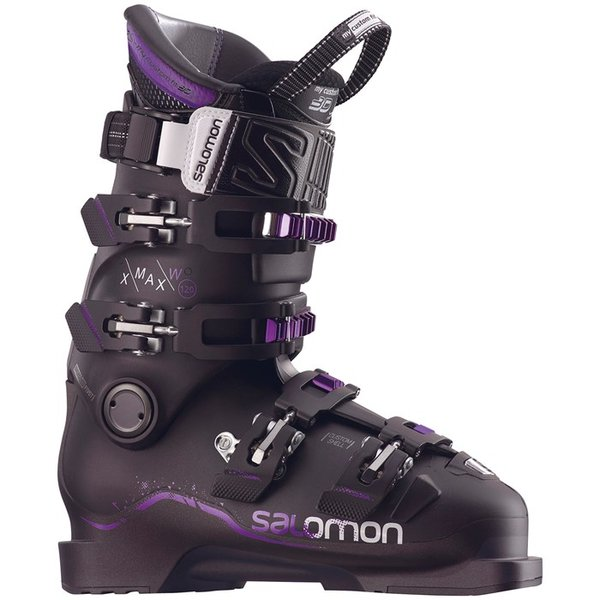 Salomon X Max 120 W - Metallic Black/Black/Purple