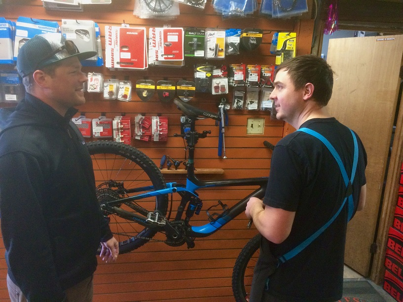 Gerick Cycle and Ski Service Department
