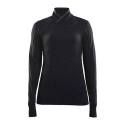 Craft W's Fuseknit Comfort Wrap LS - Black