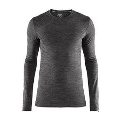 Craft Fuseknit Comfort RN LS - Black Melange
