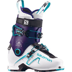 Salomon Mtn Explore W Dark Purple-White-Aqua Blue