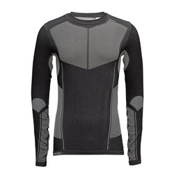 Salomon Primo Warm LS CN Tee - M's - Black