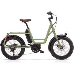 Benno Bikes REMIDEMI PERFORMANCE 65nm 400wh STEP THROUGH OLIVE GREEN REG