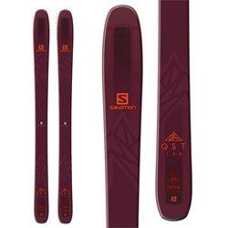Salomon QST 106 - Bordeaux/Orange